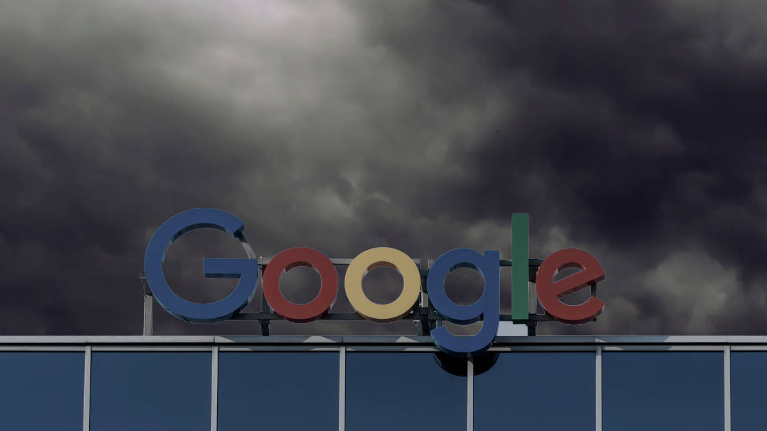 Google's power over the web allows them unprecedented control over the media