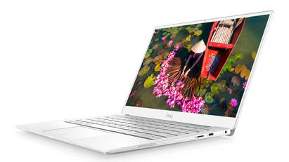 White Dell XPS 13